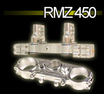 RMZ 450 - Triple Clamp - 2010 - Upper and Lower